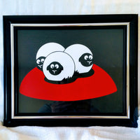 High Contrast Baby Art| Nursery Wall Art| Infant Visual Stimulation| Sheep2 - Baby See See