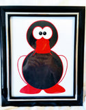 High Contrast Baby Art| Nursery Wall Art | Infant Visual Stimulation| Duck - Baby See See