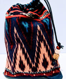 Handmade Embroidered Bag| Customized Gift Bags| Native American Style| Horse - Baby See See