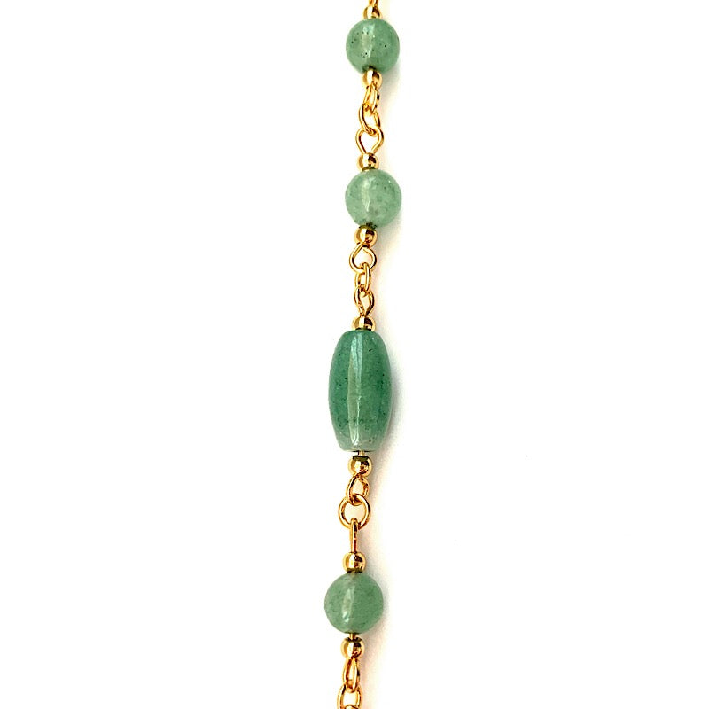 Jade Gold Chain 999