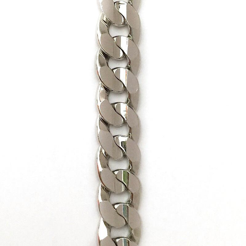 Silver Oval Link Chain by the Inch - Chains by Design