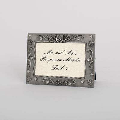 "Scarborough Pewter 2""x3"" Place Card Frame"