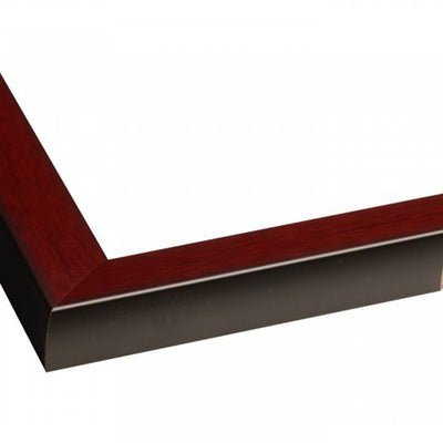 Oxford Mahogany Directional Sign Frame