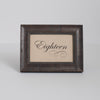 Elk Mountain Distressed Wooden Table Number Frame - Spruce Brown