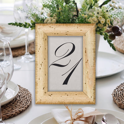 Sundance Rustic Table Number Frame
