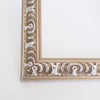 Vienna Ornate Wooden Table Number Frame - Silver