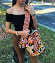 Example of a Wayuu bag or Wayuu mochila