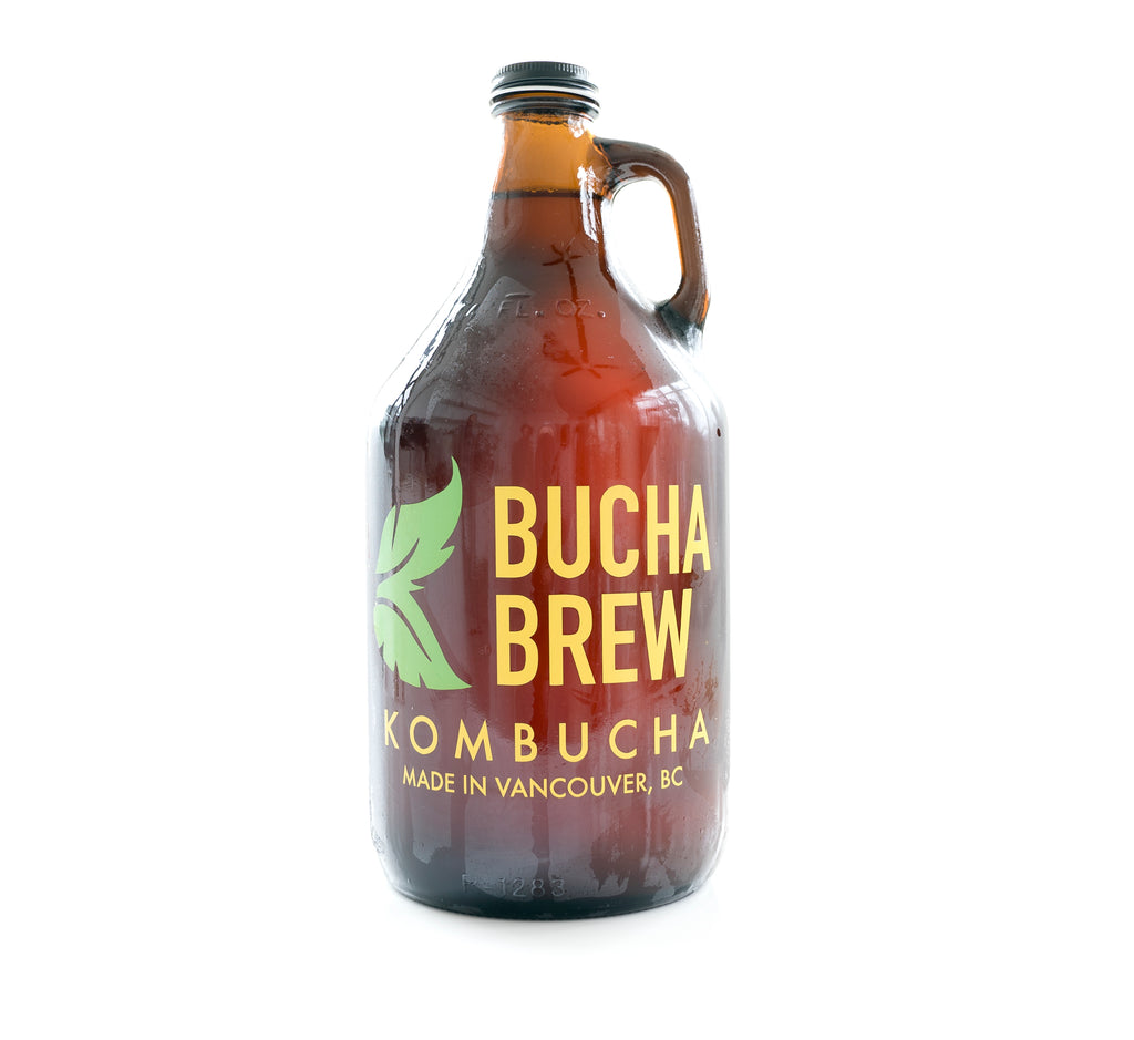 Empty Growler - Small Growler Bucha Brew Kombucha