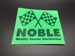 Pro Shop Noble Worldwide Sticker