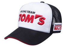 TRD X TOM'S Racing Team 3D Print Snap Back Racing Hat