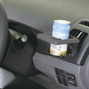 NAPOLEX Fizz Folding A/C Vent Drink Holder