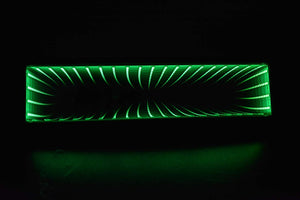ADVANTAGE LED Blackhole Mirror ~ green