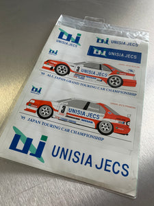 UNISIA JECS All Japan Grand Touring Car Championships 1995 Sticker Sheet