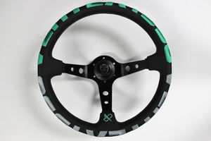 Vertex 1996 Steering Wheel Green