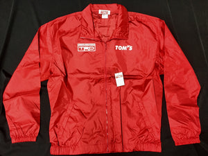 TRD X TOM'S Wind Breaker Red