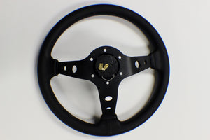 Vertex 10 Star 330mm Steering Wheel Blue