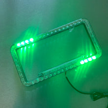 Disco License Plate Frame (Green)