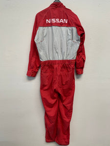 Used Nissan Red Stage Work Suit ~ 2L