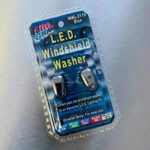 LITE GLOW L.E.D. Windshield Washers (Blue)