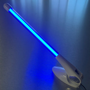 "9"" Blue Fluorescent Decorative Antenna"