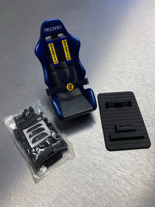 Carmate Blue Recaro old cell phone holder