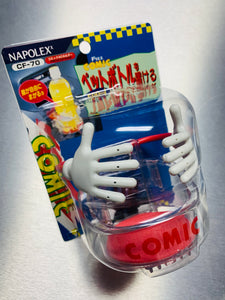 "Napolex Comical Drink Holder ""Hands"" for air vent (red)"