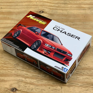 Toyota Kunny'z JZX100 Chaser Tourer V 1/24 Scale Model Kit By Aoshima