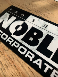 Pro Shop Noble Inc. Marble sticker Op.2
