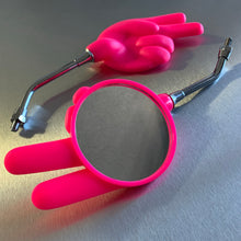 High Visibility Safety Pink Scissors Mirrors! left and right side!