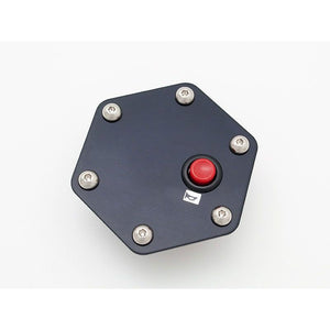 Daikei Horn Plate - Red Button
