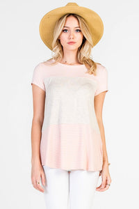 Pretty In Pink Top - The Lovely Fashion