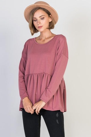 All About Mauve Top - The Lovely Fashion