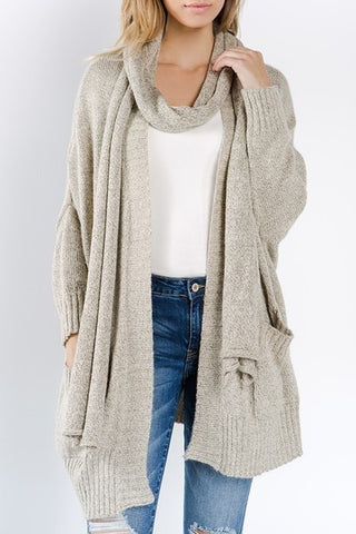 Boyfriend Cardigan - The Lovely Fashion