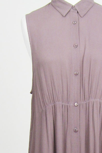 Lilac Dress - The Lovely Fashion