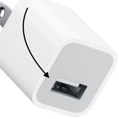 USB power adapter input