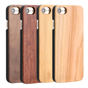 Authentic Wooden iPhone Case in Rosewood, Bamboo, Walnut, or Cherry Wood