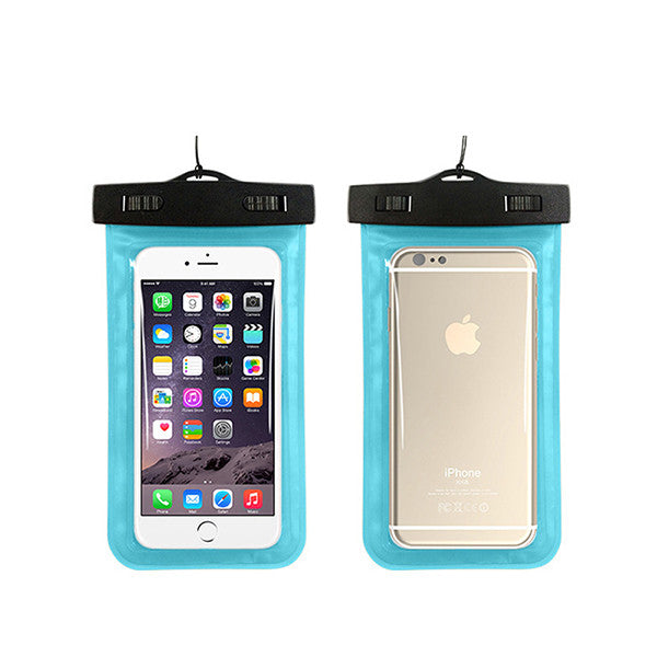 Waterproof Pouch for iPhone X, XS, XR, 8, 8 Plus, 7, 7 Plus, 6S, 6S Plus, SE, & All Models - Multiple Colors
