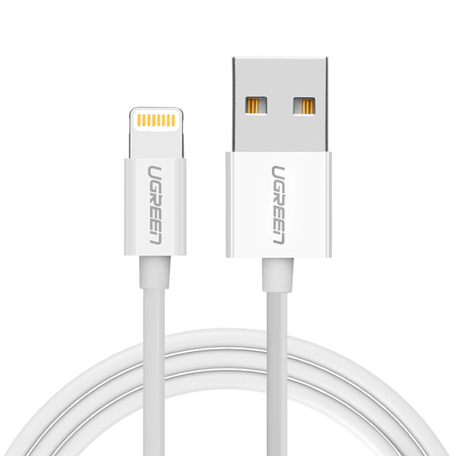 MFi-Certified, Extra-Durable Fast Charge Lightning Cable for iPhone, iPad, and iPod