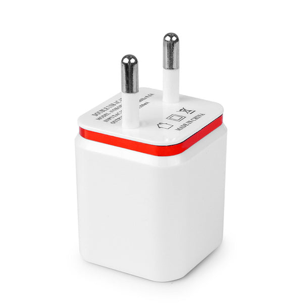 Dual USB iPhone Wall Charger - Fastest Safe iPhone Charger in 4 Colors