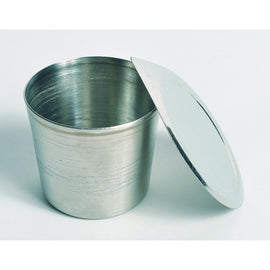 Crucibles with Lid, Stainless Steel