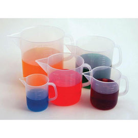 Beakers with Handle, Short Form, PP