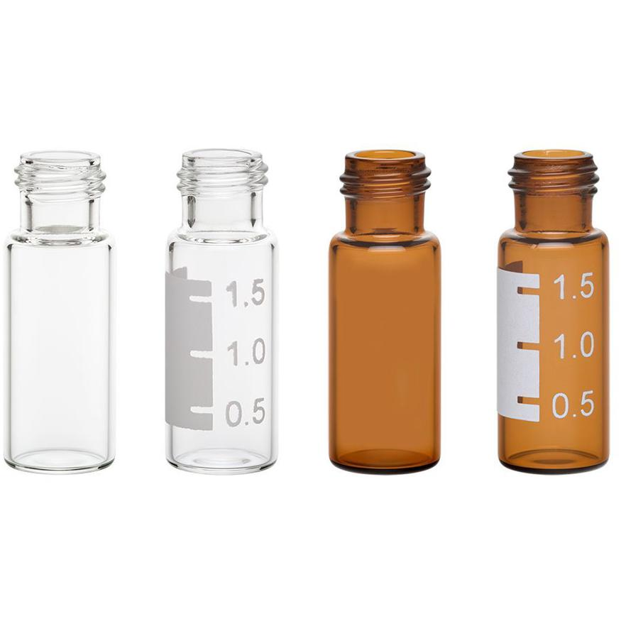 9mm Large Opening R.A.M. Vials, 12x32mm