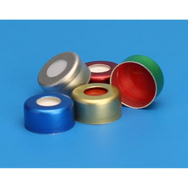 11mm Aluminum Crimp Seals, Preassembled