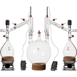 Ai 10L Short Path Distillation Kit, with Valved Adapters