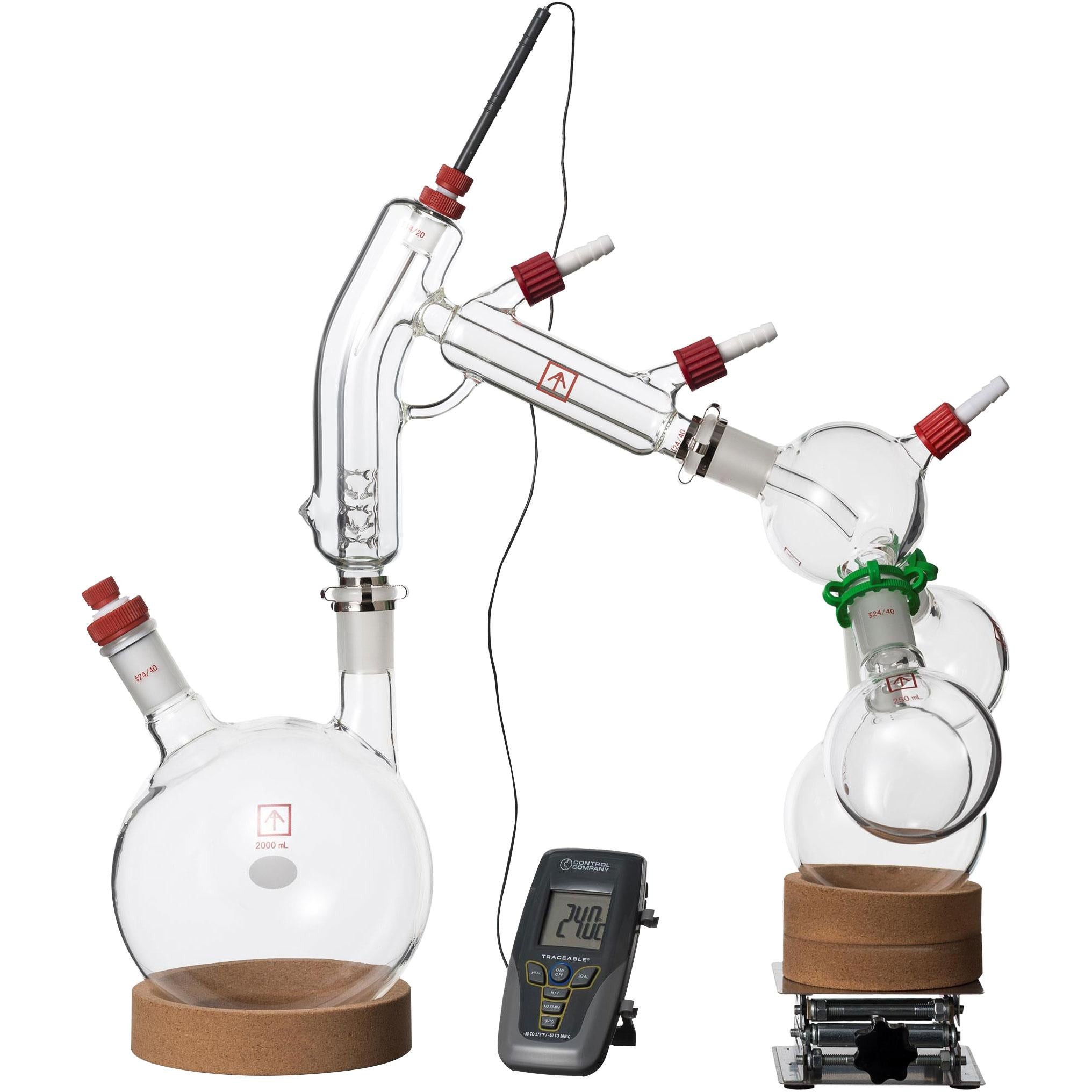 Ai 2L Short Path Distillation Kit, with Two Set-up Options