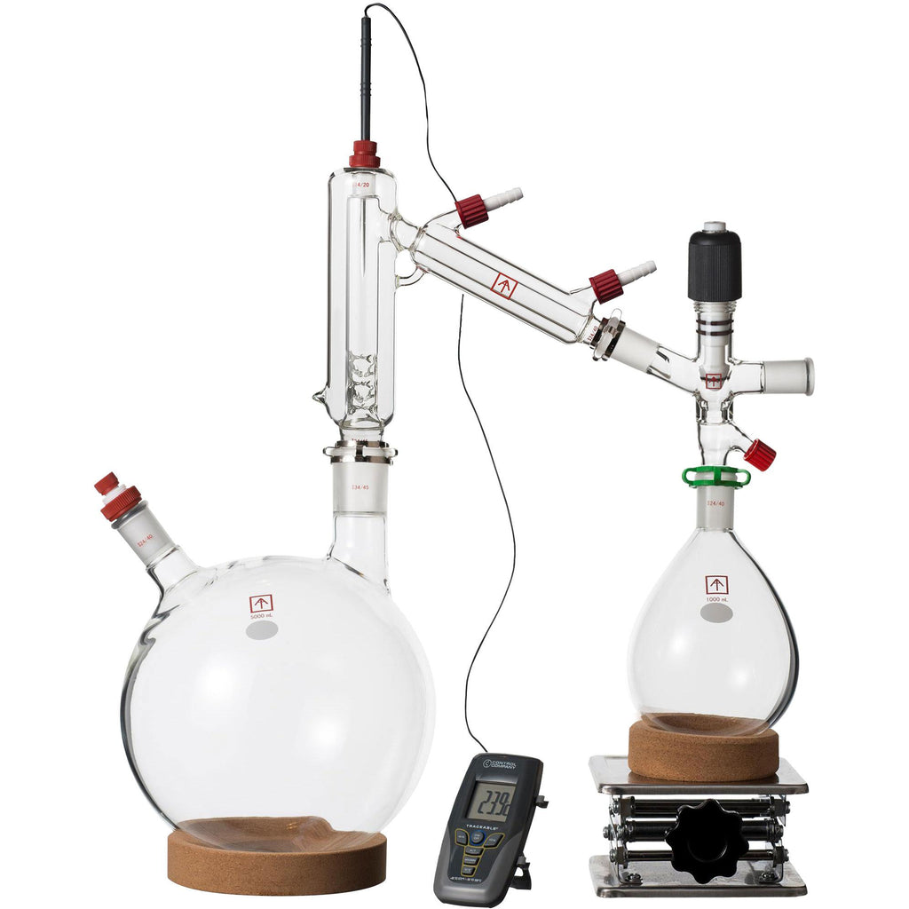 Ai 5L Short Path Distillation Kit, with Valved Adapter