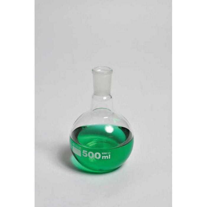 Boiling Flasks, Flat Bottom, Ground Glass Joints, Borosilicate Glass