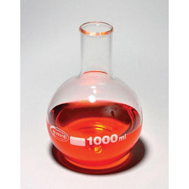 Boiling Flasks, Flat Bottom, Borosilicate Glass