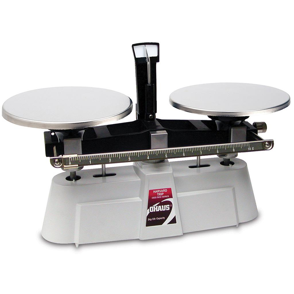 Ohaus® Harvard Trip® Mechanical Scales (Readability up to 0.1 g)