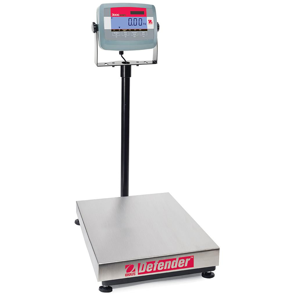 Ohaus® Defender® 3000 Bench Scales (Readability up to 0.005 lb)